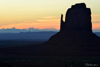 Sandstone Butte at Monument Valley, Navajo Nation, Arizona